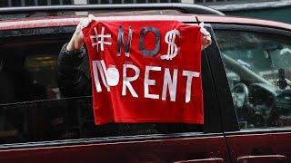 Des Américains font la grève des loyers