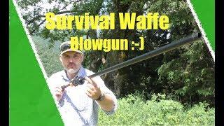 Survival Waffe Blasrohr?