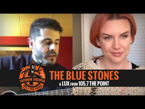 THE BLUE STONES talk cancelled tour, quarantine, and PLAY LIVE for us [Point YouTube Takeover]
