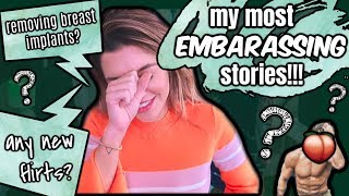 MY MOST EMBARASSING STORIES, FLIRTATIONS, & MORE | JUICY Q&A