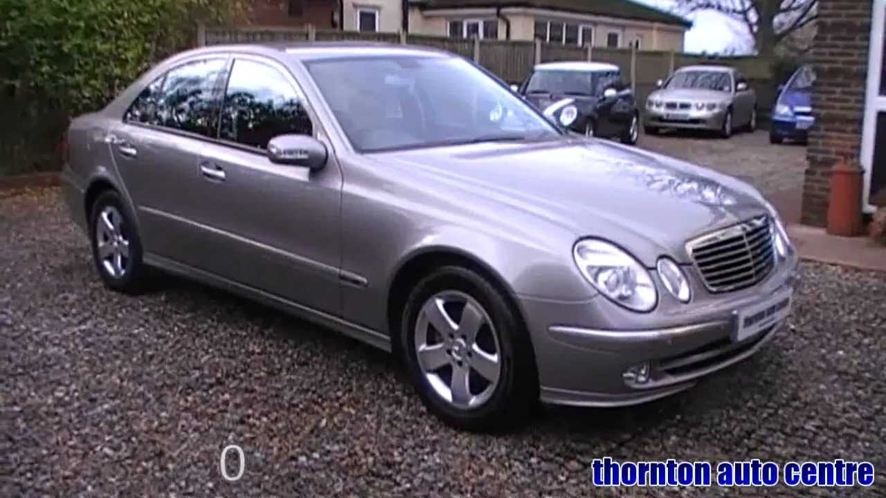 2002 mercedes e270 cdi 2.7 avantgarde diesel auto - youtube