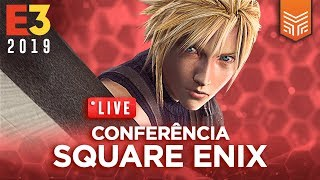 E3 2019 EM PORTUGUÊS | CONFERÊNCIA SQUARE ENIX