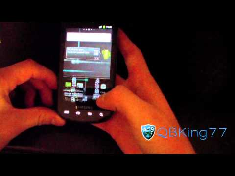 MTD on the Samsung Epic 4G (Please watch)