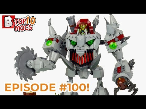Make LEGO not WARCRAFT (also, EPISODE #100!!!) | TOP 10 LEGO Creations (MOCs)