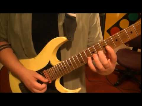 Manfred Manns Earth Band Blinded By The Light Guitar Lesson By