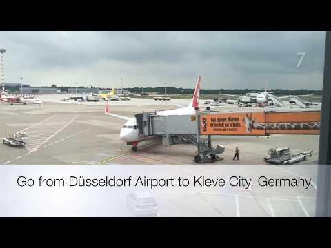 How to get from Düsseldorf Airport to Kleve City Rhein Waal University