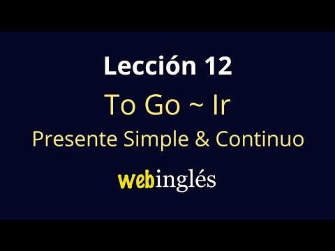 Como conjugar el verbo go en pasado simple
