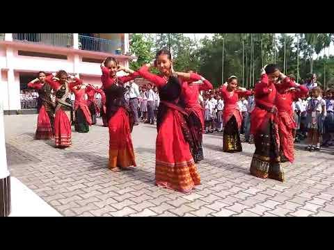 Bodo traditional dance in dimakuchi,...