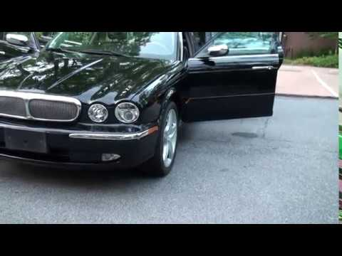 2005 jaguar xj super 8 v8 73k black black for sale 919. Black Bedroom Furniture Sets. Home Design Ideas