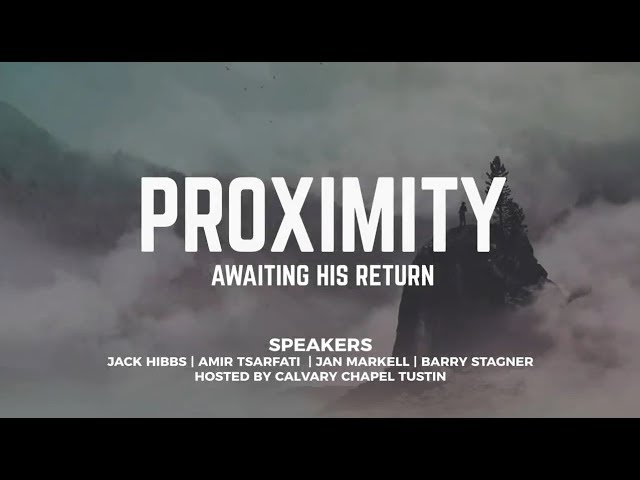Proximity Bible Prophecy Conference 2019 - Jan Markell