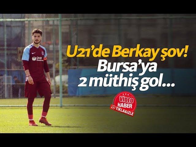 Berkay Sefa Kara'dan 2 müthiş gol!