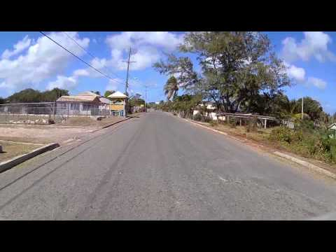 Driving in Antigua - English Harbour to Half Moon Bay