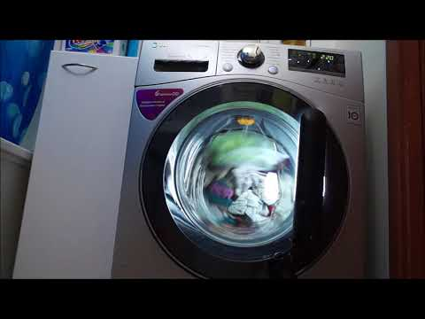 LG F10A8HDS5 washing machine - Whites, lights and towels (Allergy care)
