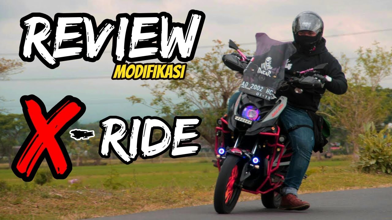 REVIEW MODIFIKASI X RIDE YouTube