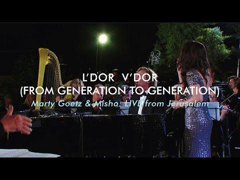Live worship concert in Jerusalem (L'Dor V'Dor)