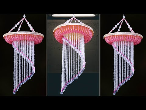 Amazing Wind Chime || Pearl Chandelier Idea || Jhumar Making