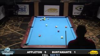 2014 CSI 8 Ball Invitational: Appleton vs Bustamante