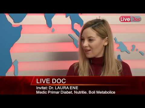Interviu LiveDoc cu dr. Laura Ene, diabetolog. Aproape 2 milioane de români au diabet