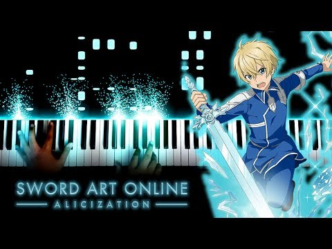 """[Sword Art Online: Alicization ED 2] """"forget-me-not"""" - ReoNa (Piano)"""
