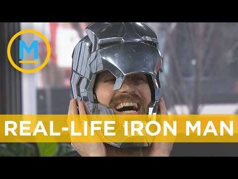 YouTuber the Hacksmith shows off his Iron Man helmet, Captain America Shield and more | Your Morning
