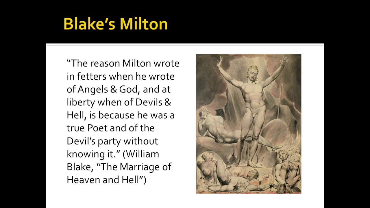 satan as the hero of paradise lost by john milton A good deal of critical discussion has centred around the question, who is the hero of paradise lost indeed, the complexity of the question is reflected in the widely divergent views that have been held a whole host of earlier and later critics—dryden goethe, blake, shelly, lowell, masson.