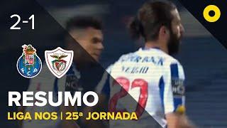 Resumo: FC Porto 2-1 Santa Clara - Liga NOS