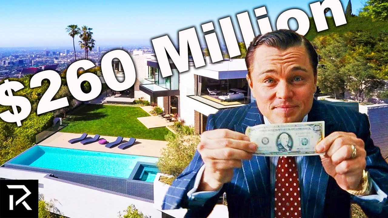 How Leo DiCaprio Spent $260 Million