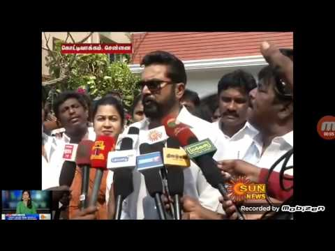 Sarathkumar exclusive interview after raid