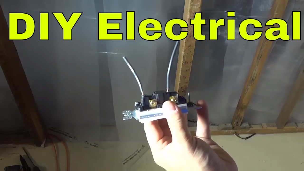 How To Remove Wiring Pushed Into A Light Switch-DIY Electrical - YouTube