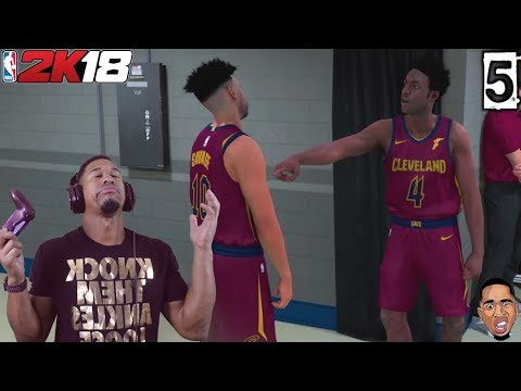 FIGHT WITH TEAMMATE! NBA 2k18 My Career Ep.5