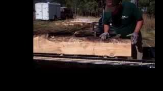 How To Process An Irregular Log On A Bandsaw Mill