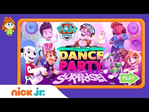 PAW Patrol: Dance Party Surprise Game Walkthrough | Nick Jr. Gamers