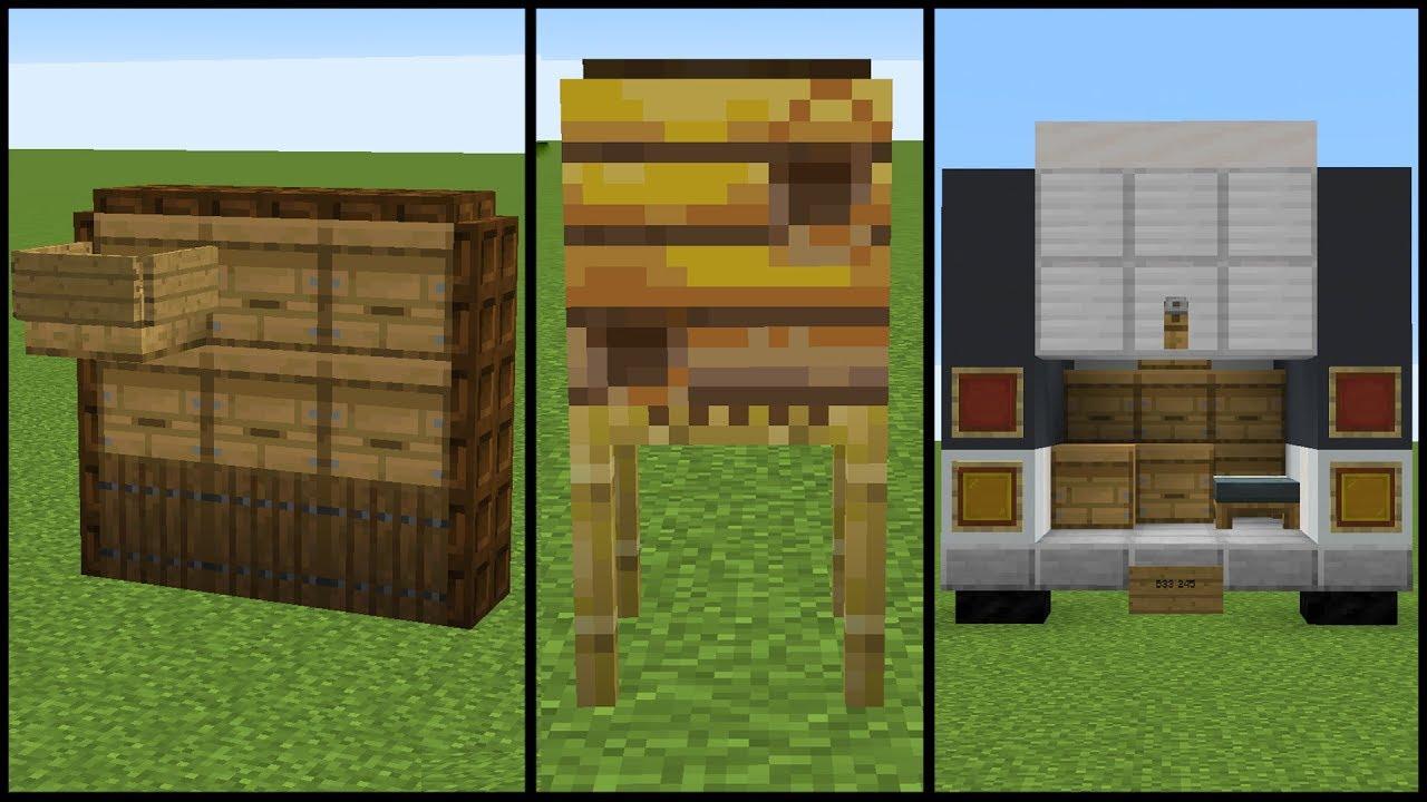 1 15 Minecraft Bee Hive Build Hacks YouTube