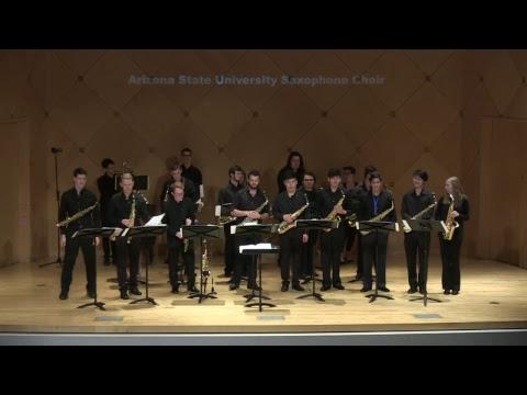 ASU Saxophone Ensembles; starts 4/13/17 at 730pm AZ time