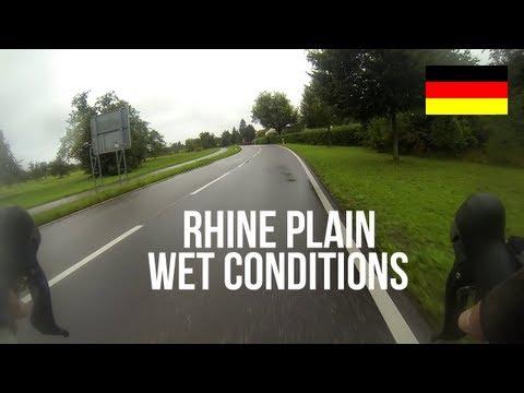 [HD+] Ride in the Rhine plain, Germany
