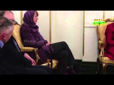 Catherine Ashton in landmark bridge-building trip to Iran