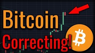Bitcoin Corrects As Altcoins Prepare To Rally!