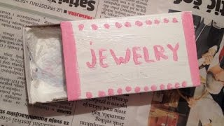 Make A Cute Matchbox Jewelry Box - Diy Style - Guidecentral