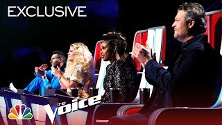 Adam, Blake, Jennifer and Kelly Perform with Their Teams - The Voice 2018