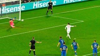 Unreal penalties in football