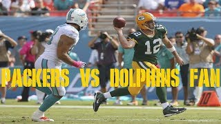 The Packers season is over if we lose to the Dolphins w/ Phins fan Joe!
