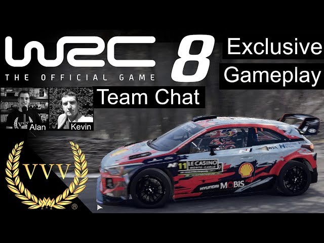 WRC 8 - First Look Preview - Part 2, Team Chat