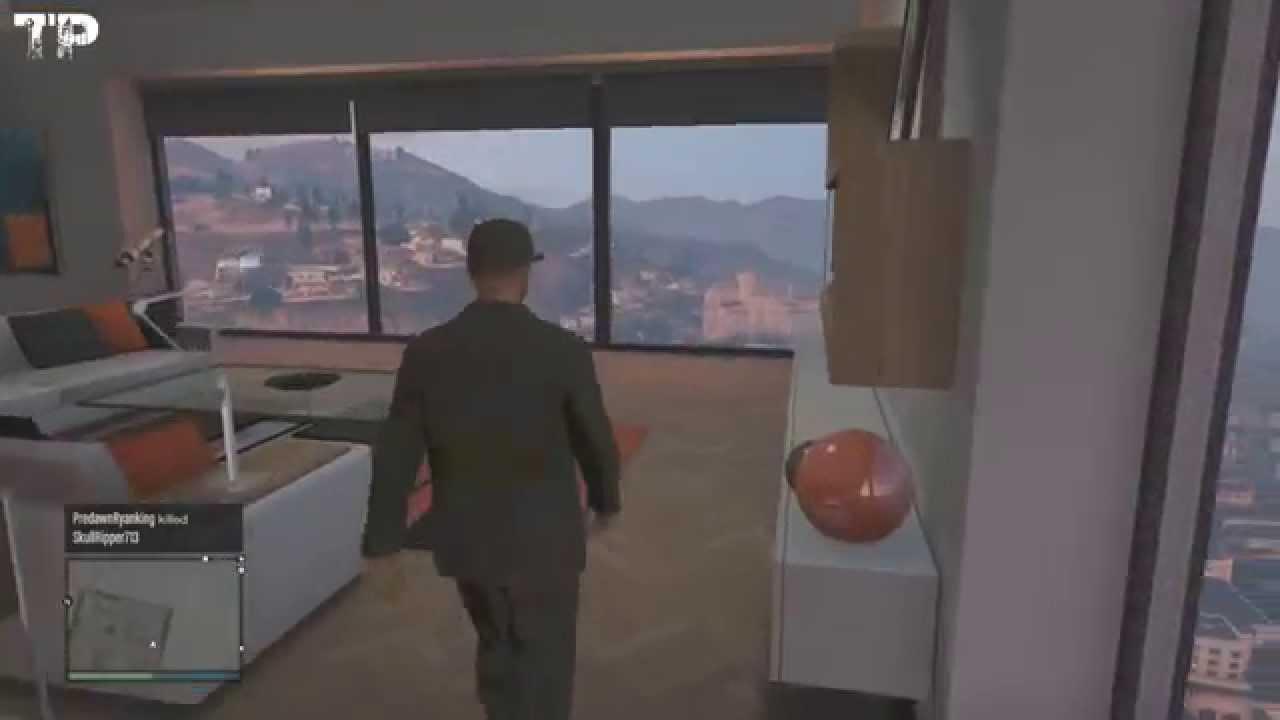 GTA 5 Gameplay Apartment 40 & 10 Car Garage Walkthrough ...