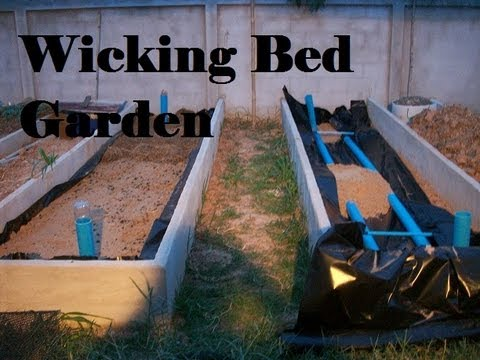 how to make wicking garden beds costa