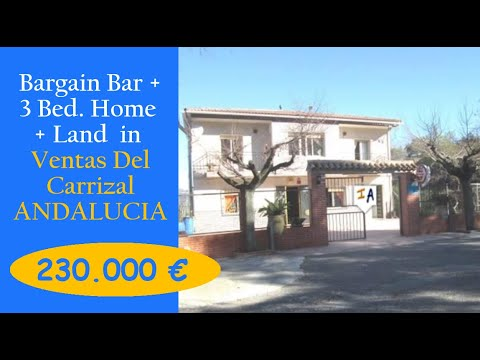 CM100 Bargain Commercial Properties from Inland Andalucia filmed Jan 2017