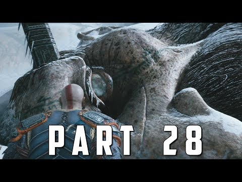 GOD OF WAR Walkthrough Gameplay Part 28 - HEAD OF THAMUR (God of War 4)