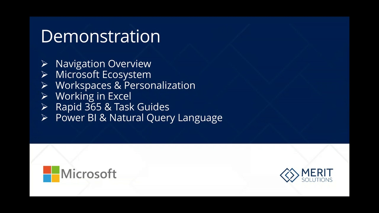 microsoft dynamics 365 for finance and operations youtube