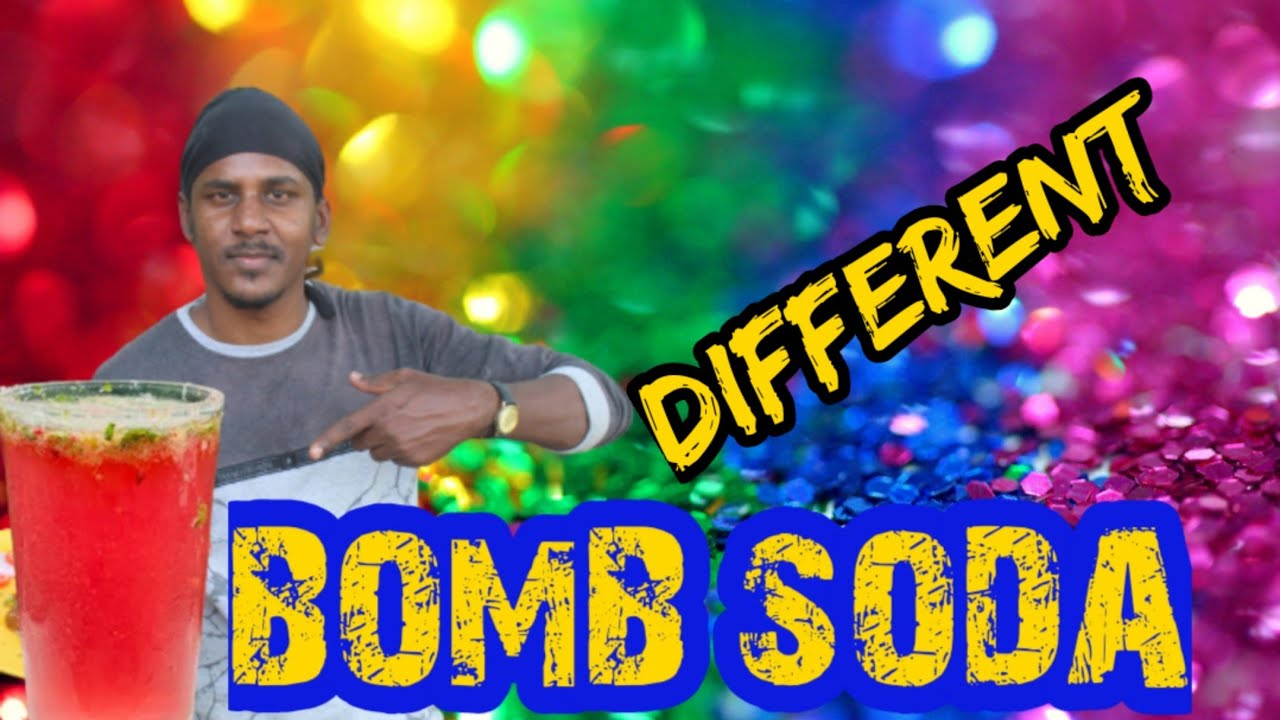 How to make Bomb💣soda at home/ Sweet and Salt bomb soda/Trending kerala Bomb soda in tamil/ബോംബ് സോഡ