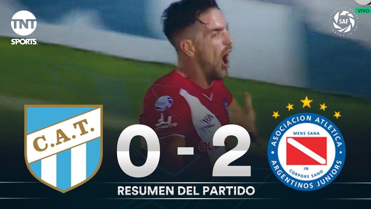 Resumen de Atl. Tucumán vs Argentinos Jrs. (0-2) | Fecha 20 - Superliga Argentina 2019/2020