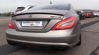 650HP Mercedes-Benz CLS63 AMG - REVS & DRAG RACING!